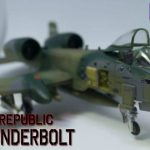 A-10 ThunderBolt「航空機模型の墨入れをしてみる」