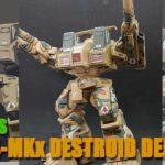マクロス「デストロイド・ディフェンダー」アメリカ陸軍編/迷彩塗装のマスキングを楽にする方法